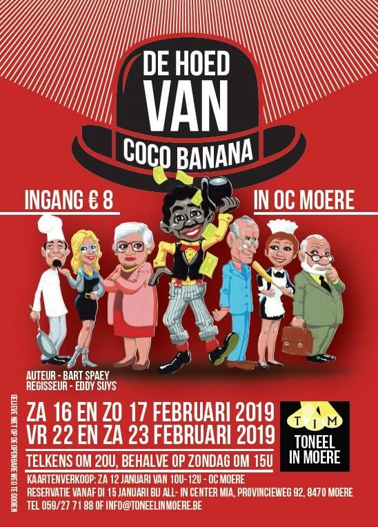 affiche - de hoed van coco banana